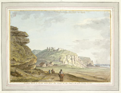 Hastings Castle And Rocks